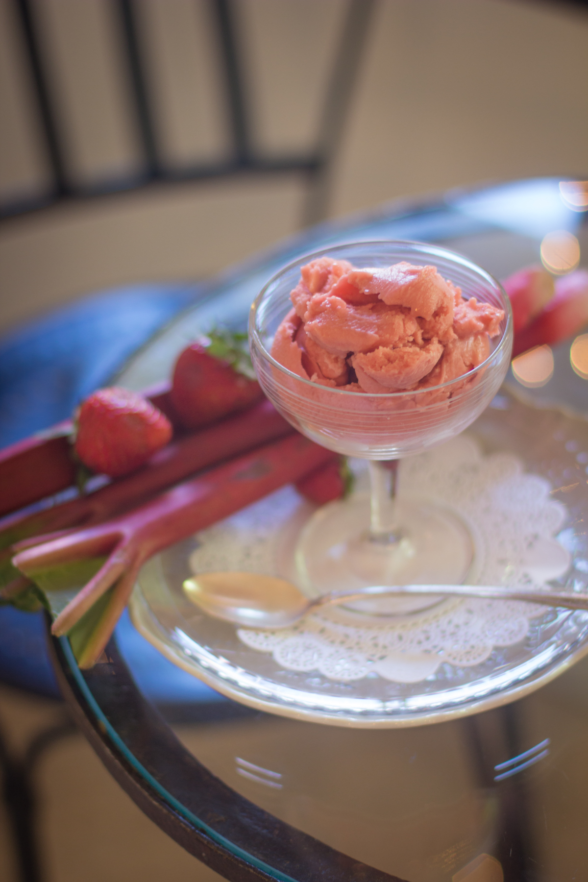 SPECIALTY ICE CREAMS  - Handmade with local fruit, veggies and spices.