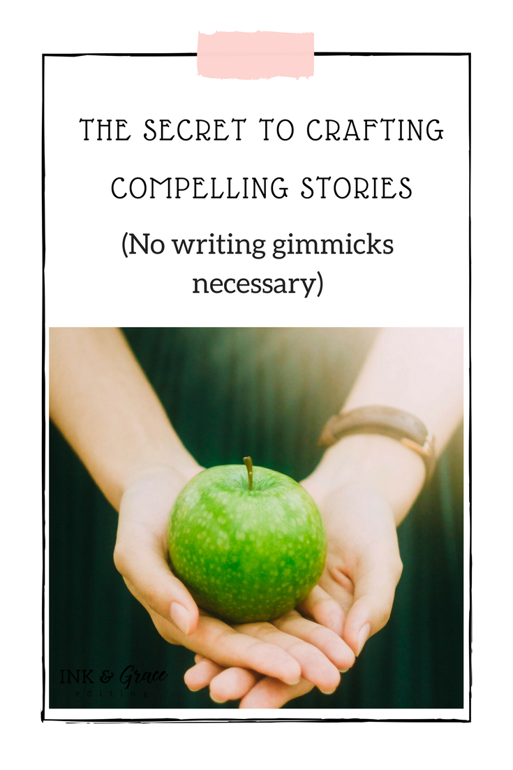 The secret to writing great stories