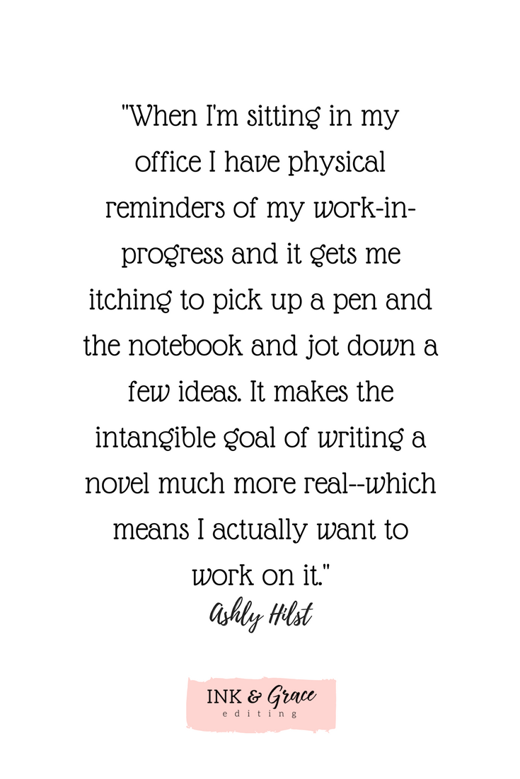 writing quote finishing your book
