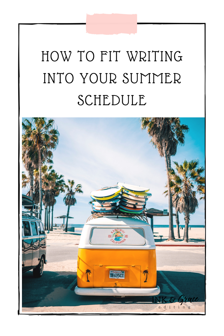 How to Fit Writing into a Busy Schedule