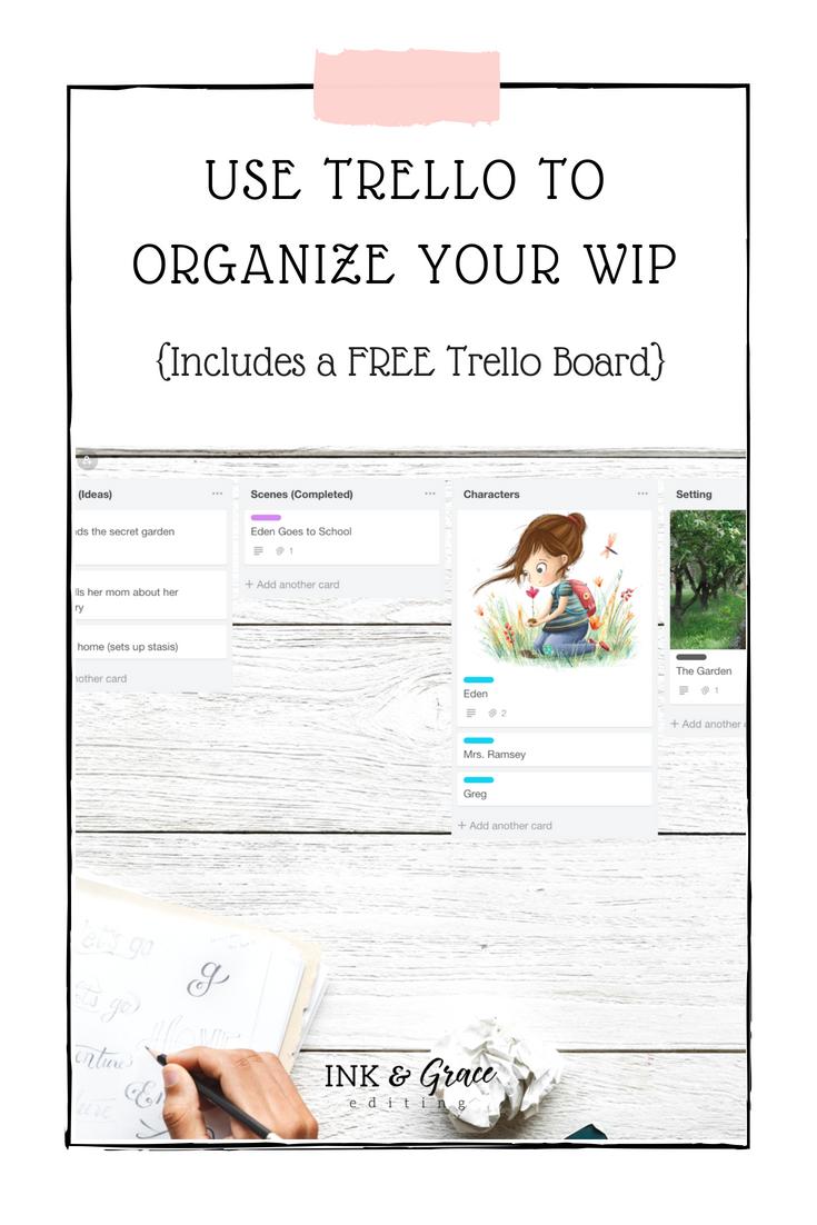 Free Trello board for organizing your work in progress