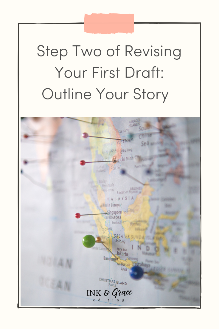Step Two of Revising You First Draft: Outline Your Story