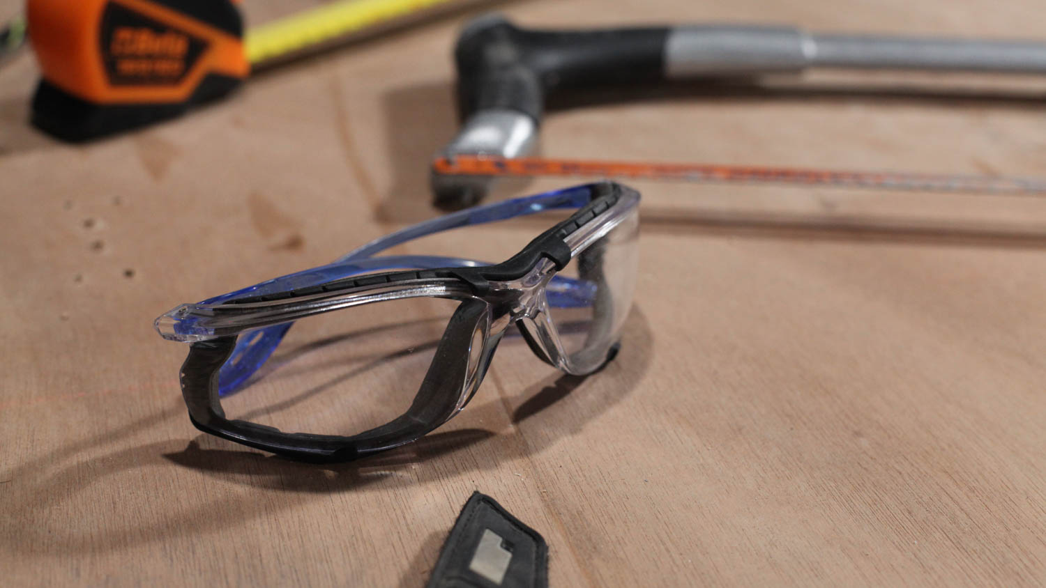 Eye protection - These 3M glasses have detachable side protectors that keep dust and other foreign objects out for good.