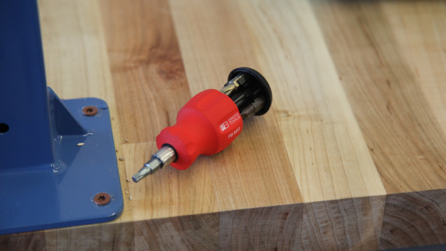 PB Swiss stubby multi-screwdriver - Little, but really well made.