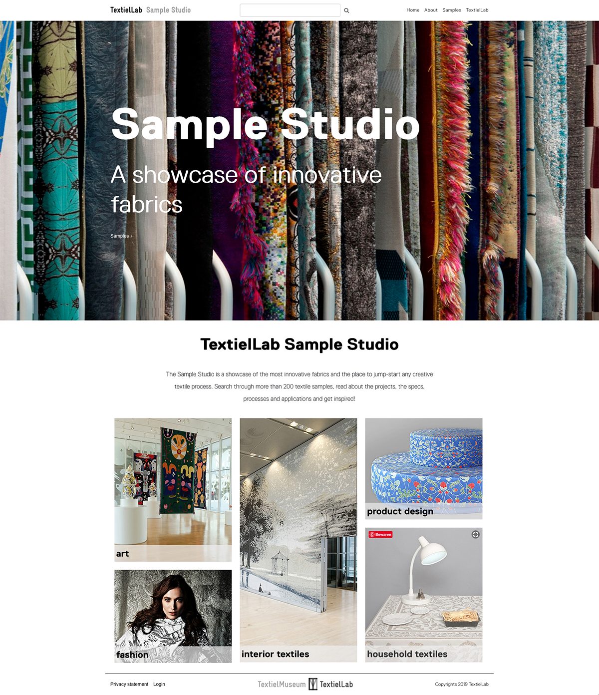 Homepage Sample Studio