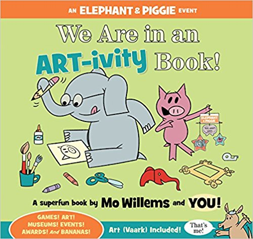 By Mo Willems and YOU!, 2017