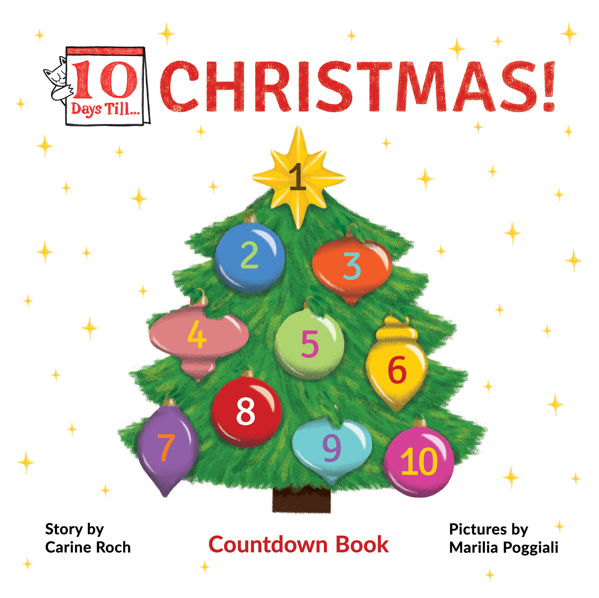 Countdown Till Christmas.Ten Days Till Christmas Ten Days Till
