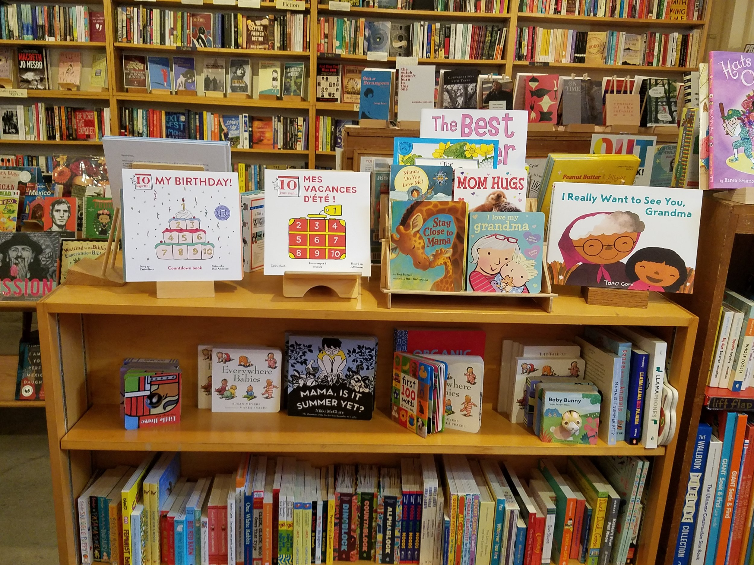 Go shopping in San Francisco - and support independent stores & bookstores , authors & illustrators!Charlie's Corner, Folio Books, Bird & Beckett, Just For Fun, Dog Eard Books, Adobe Books, Mapamundi Kids, Other Avenues, Abrams Claghorn Gallery, and more!
