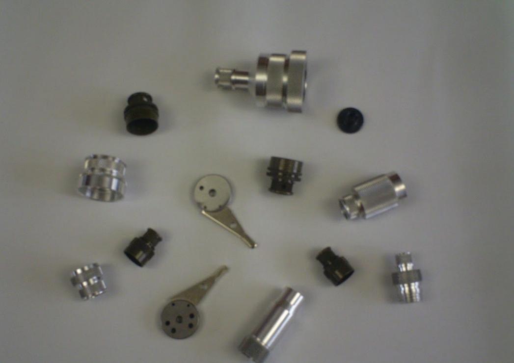 various machining parts