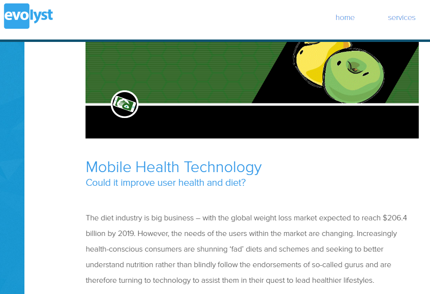 Health-tech copywriting