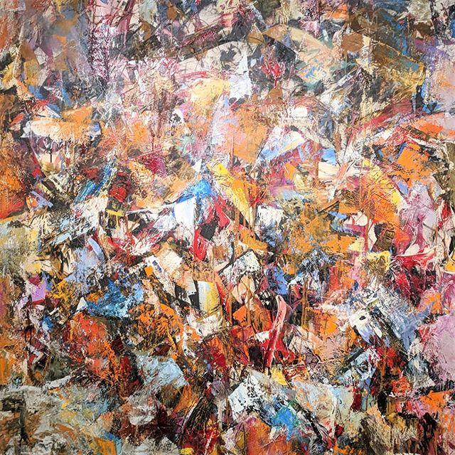 More inspiration from the Oakland Museum @oaklandmuseumca  Untitled, John Saccaro (1958) . . . #art #followart #design #gooutside #mytinyatlas #munchies #inspiration #bayarea #feedfeed #inthestudio #studio #bts #frieze #onset #handmade #painting #studio