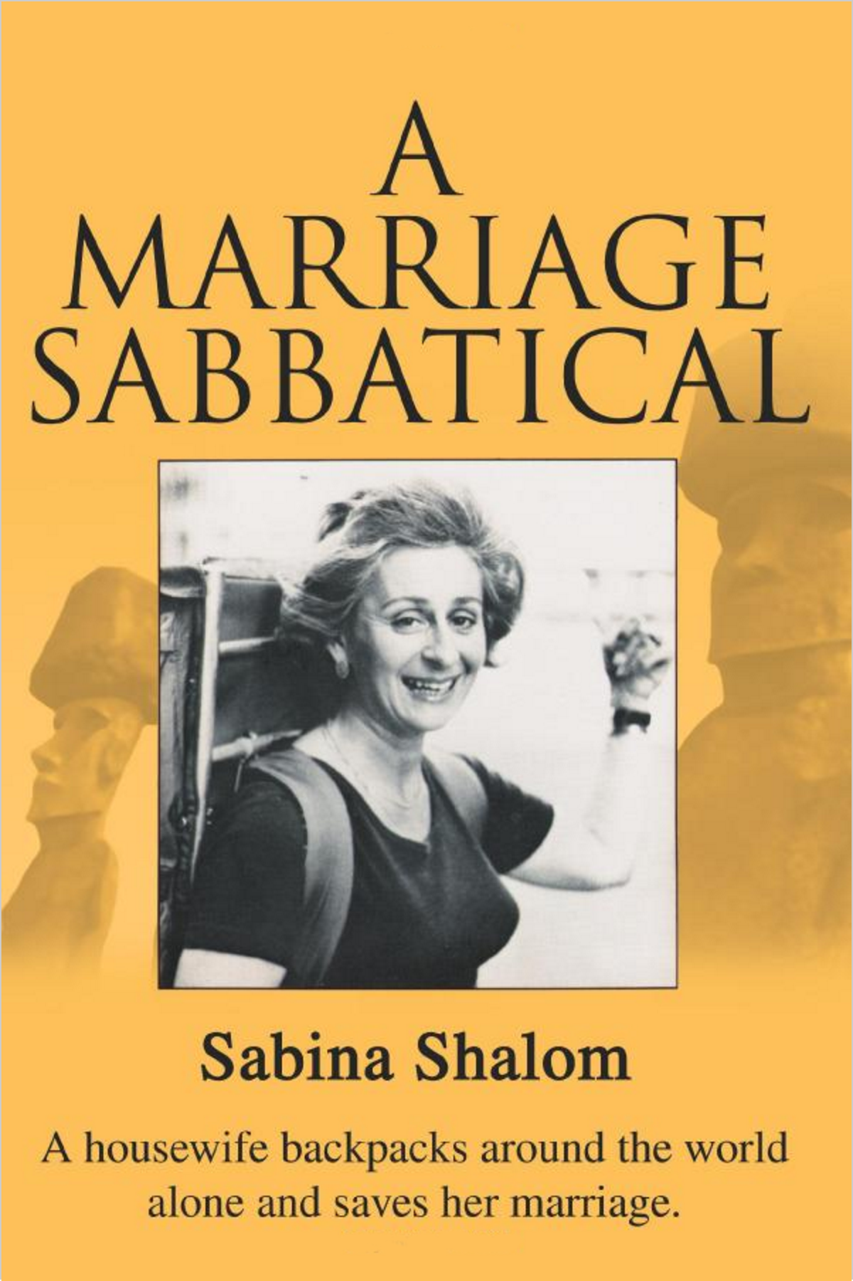 To purchase  A Marriage Sabbatical  - now in paperback -  visit Amazon.com
