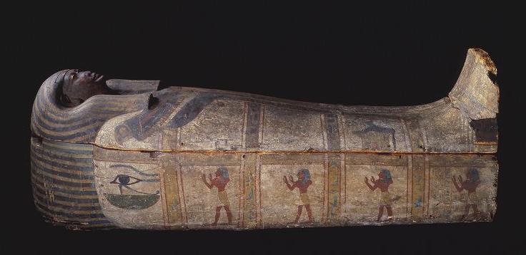 Coffin of Baket - Michael C Carlos Museum - Atlanta, United States