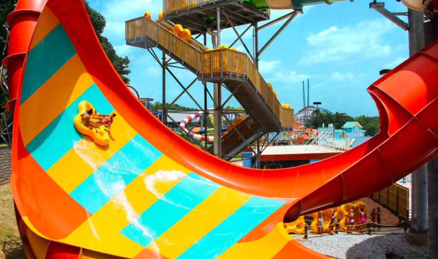 Stock Photo: Tsunami Surge - Six Flags Over Georgia - Atlanta, United States