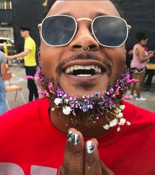 (Instagram: Glitter Beard - Chaka Khan Hacienda - Atlanta, United States)