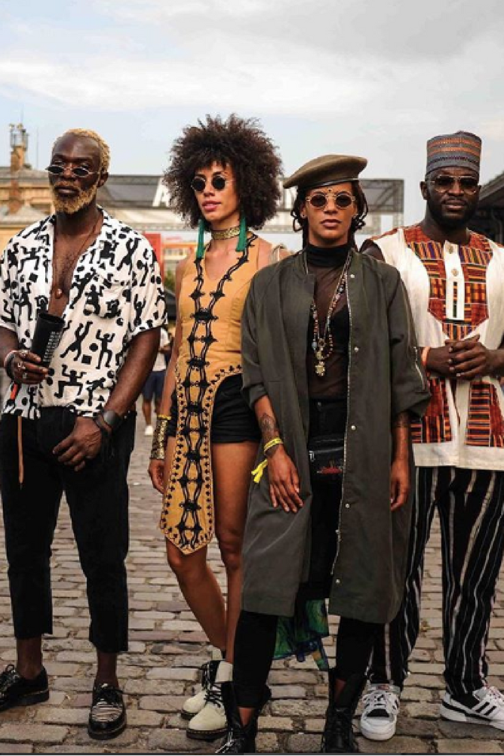 Fall music festival outfit ideas (Image: Instagram - @Afropunk)