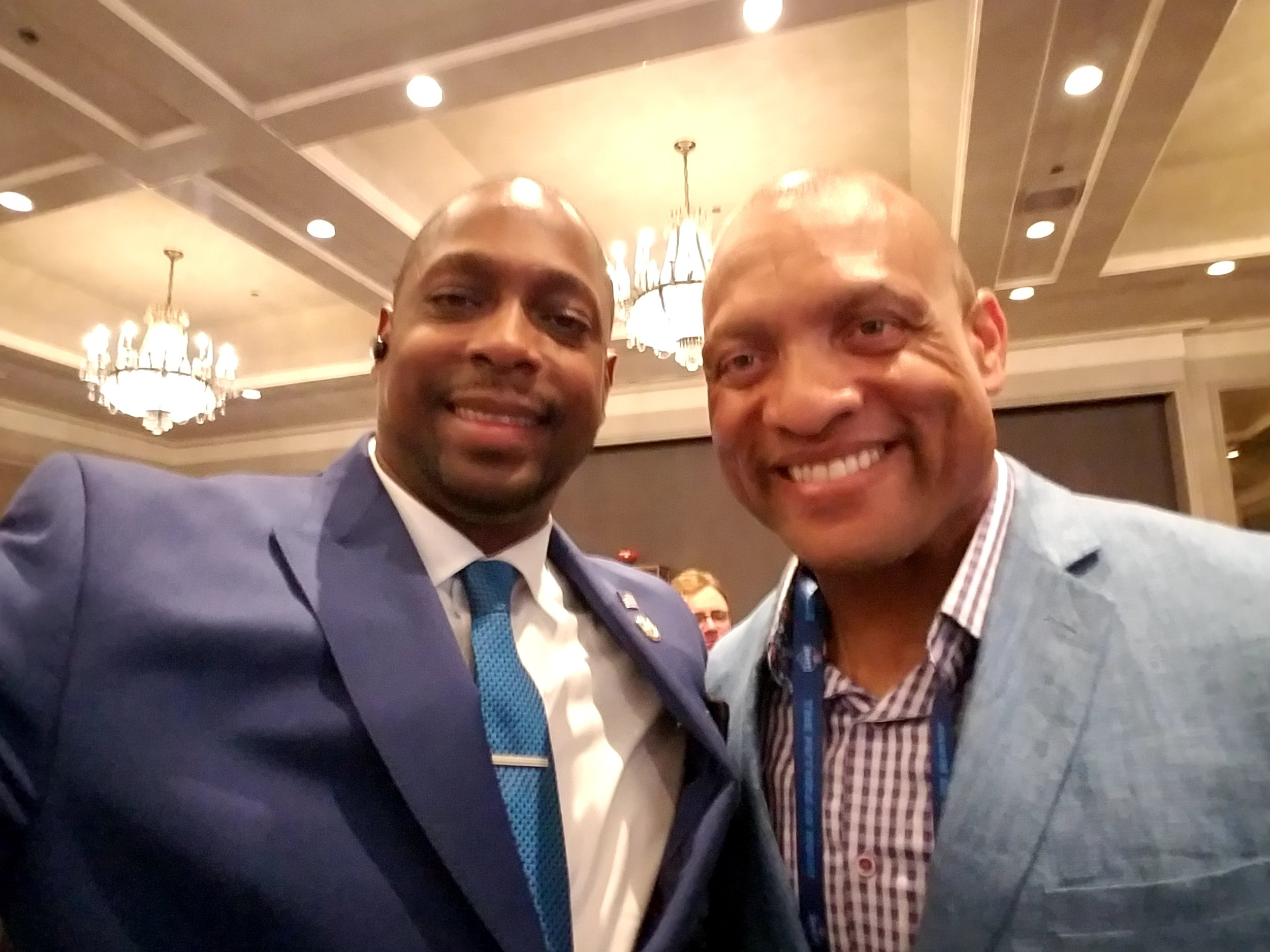 #WEREHERE with Hall of Fame Cornerback, Aeneas Williams of the Arizona Cardinals and St Louis Rams