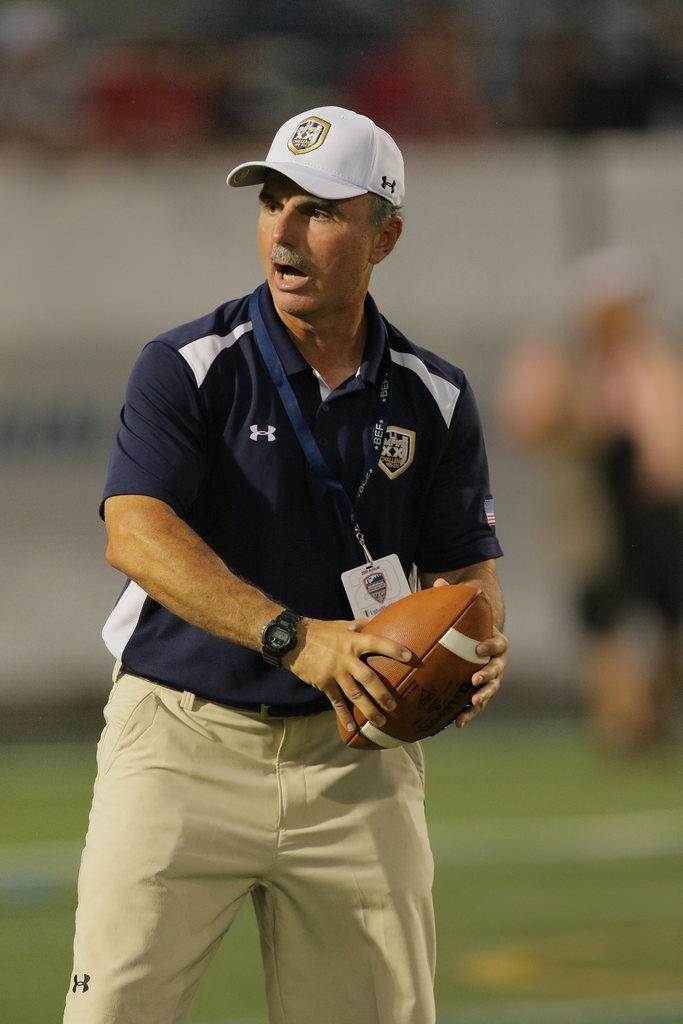 One of Long Island's best football coaches, Joe Vito