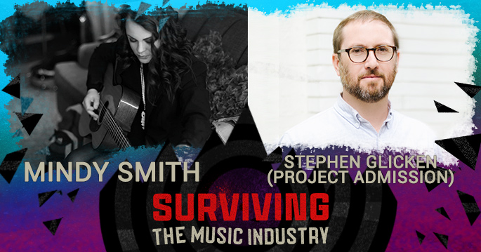 Episode 120: Mindy Smith and Stephen Glicken - Artist/Songwriter and Entrepreneur