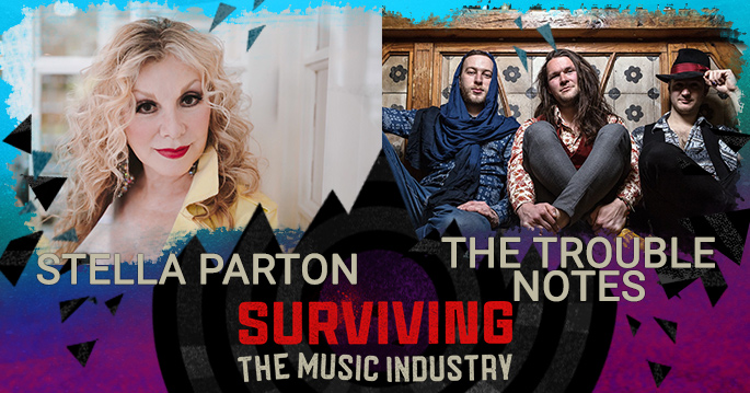 Episode 121: Stella Parton and The Trouble Notes - Country Music Icon and Instrumentalists