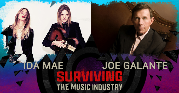 Episode 123: Joe Galante and Ida Mae - Industry Executive and Blues/Rock Artist's
