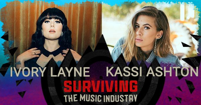 Episode 126: Kassi Ashton and Ivory Layne - Songwriters, Artists,…Badasses