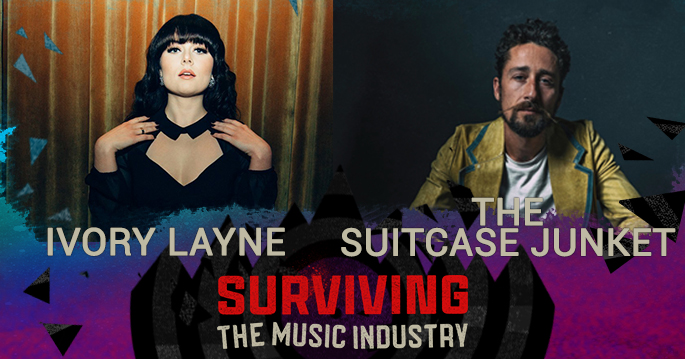 Episode 129: Ivory Layne and The Suitcase Junket - Songwriters, Artists