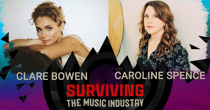 Episode 130: Clare Bowen and Caroline Spence - Actress, Artists and Songwriters