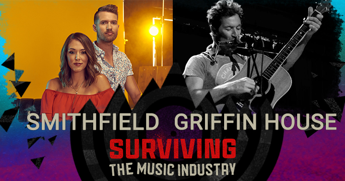Episode 132: Griffin House and SmithField - Songwriters, Artists