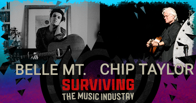 Episode 134: Chip Taylor and Belle Mt. - Songwriters, Artist