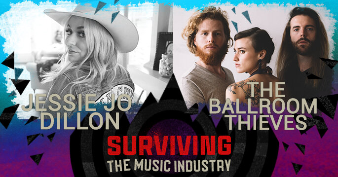 Episode 143: Jessie Jo Dillon and Martin Earley - Band, Songwriters