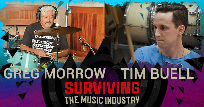 Episode 144: Greg Morrow and Tim Buell - Session Drummers, Educator, Influencer