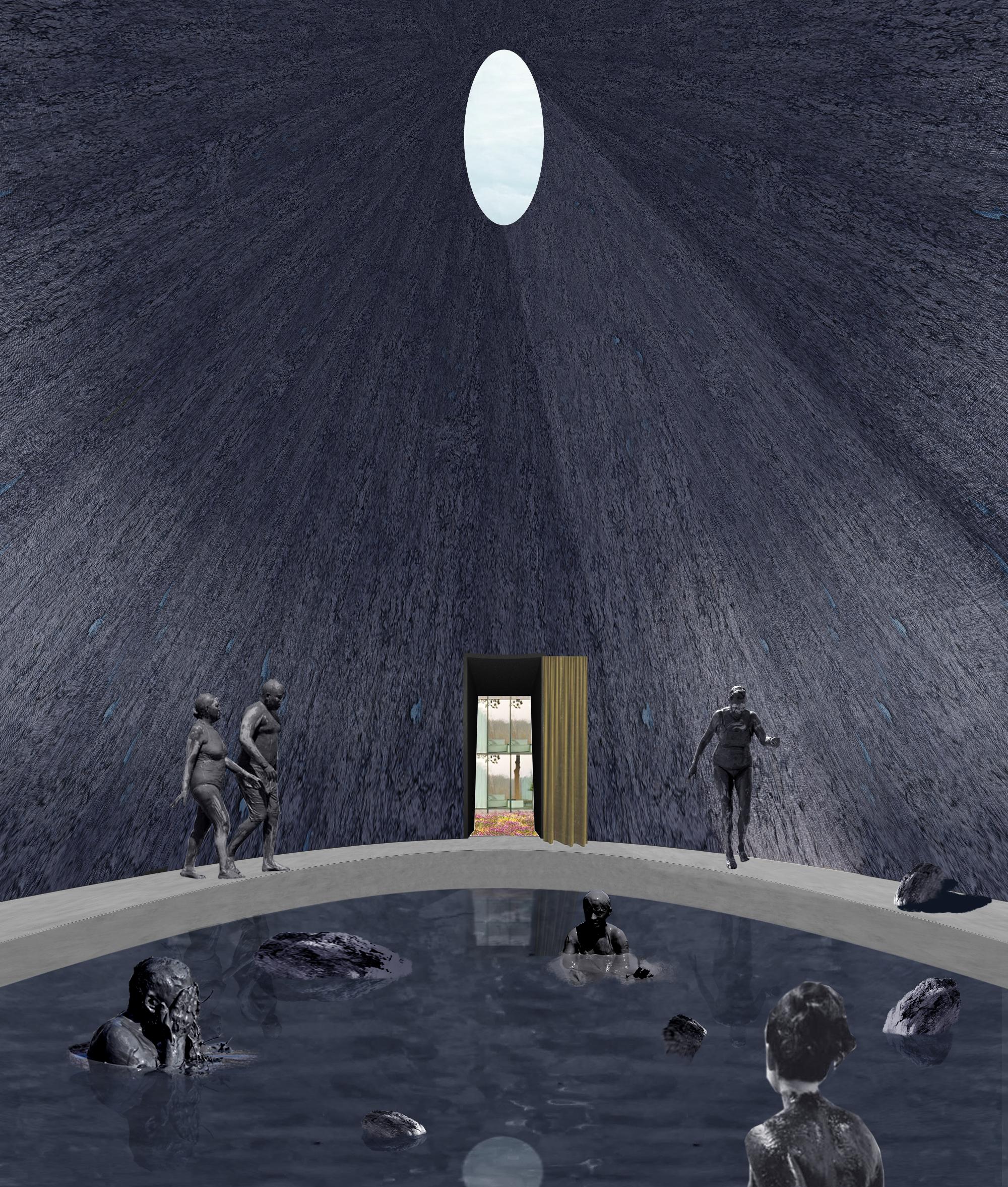 13-Sauna Room - View of Space Used as Clay Bath.jpg