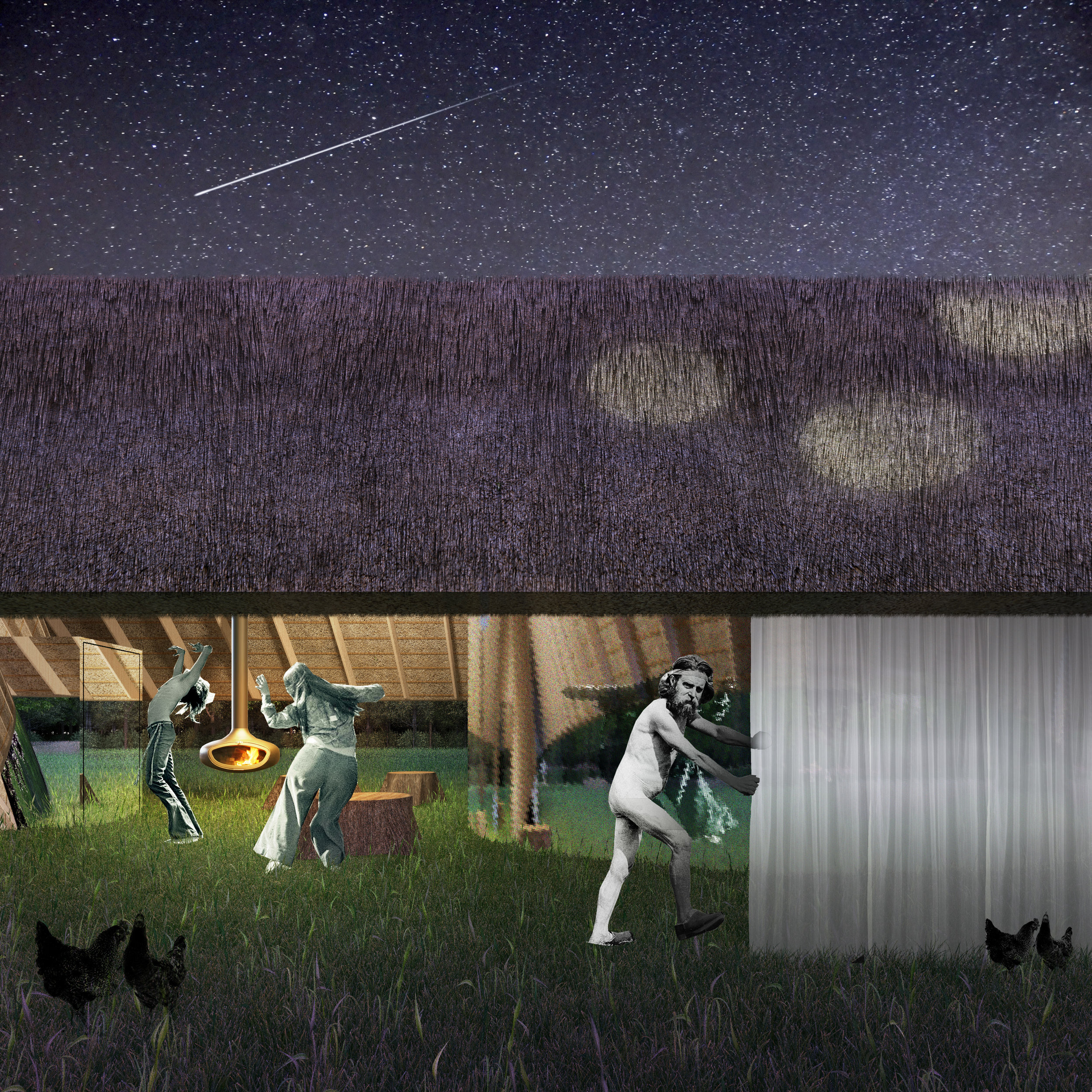 18-View of Dusk Curtain Closing and Perforate Thatch.jpg