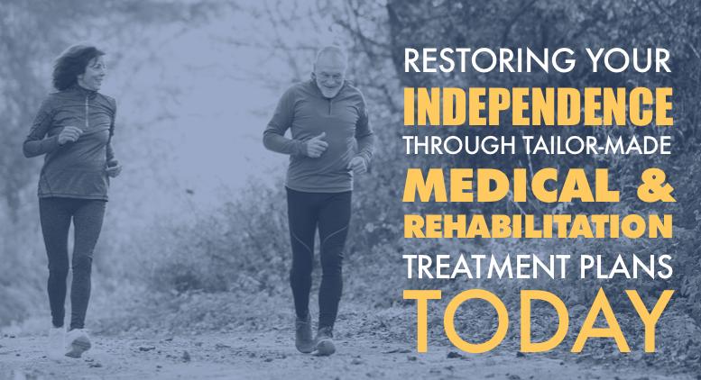 Medical rehabilitation restoring patient independence