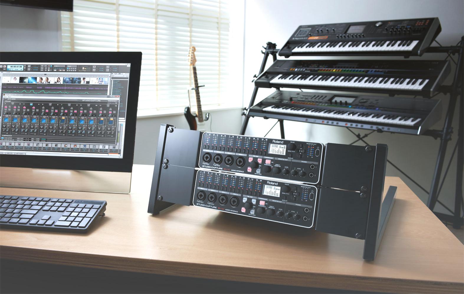 The heart of Songcraft's studio: Roland STUDIO-CAPTURE