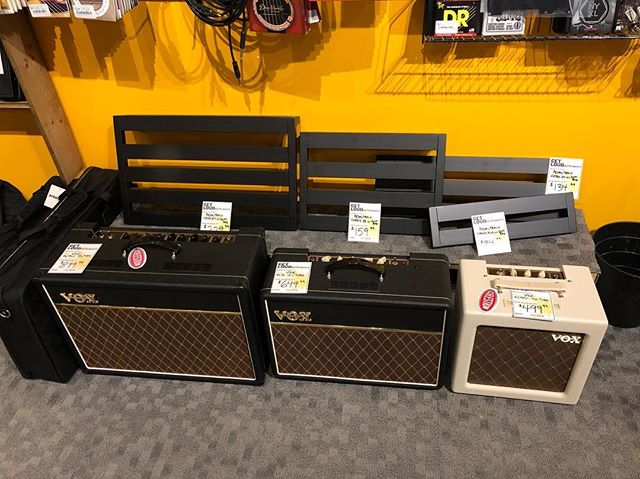 Choo Choo! Here comes the pedal train! 🚂 Pedalboards starting at $94.99. In stock now.