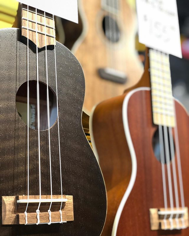 UKES!!! You want 'em, we got 'em.  Everything from beginner to professional.  Come check out what's in stock!