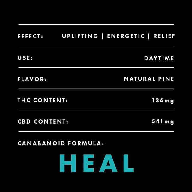 Natural Pine Scent. Perfect for Daytime use. Our Heal blend will be your new go-to. #onepuff #onepuffvape #vapelife
