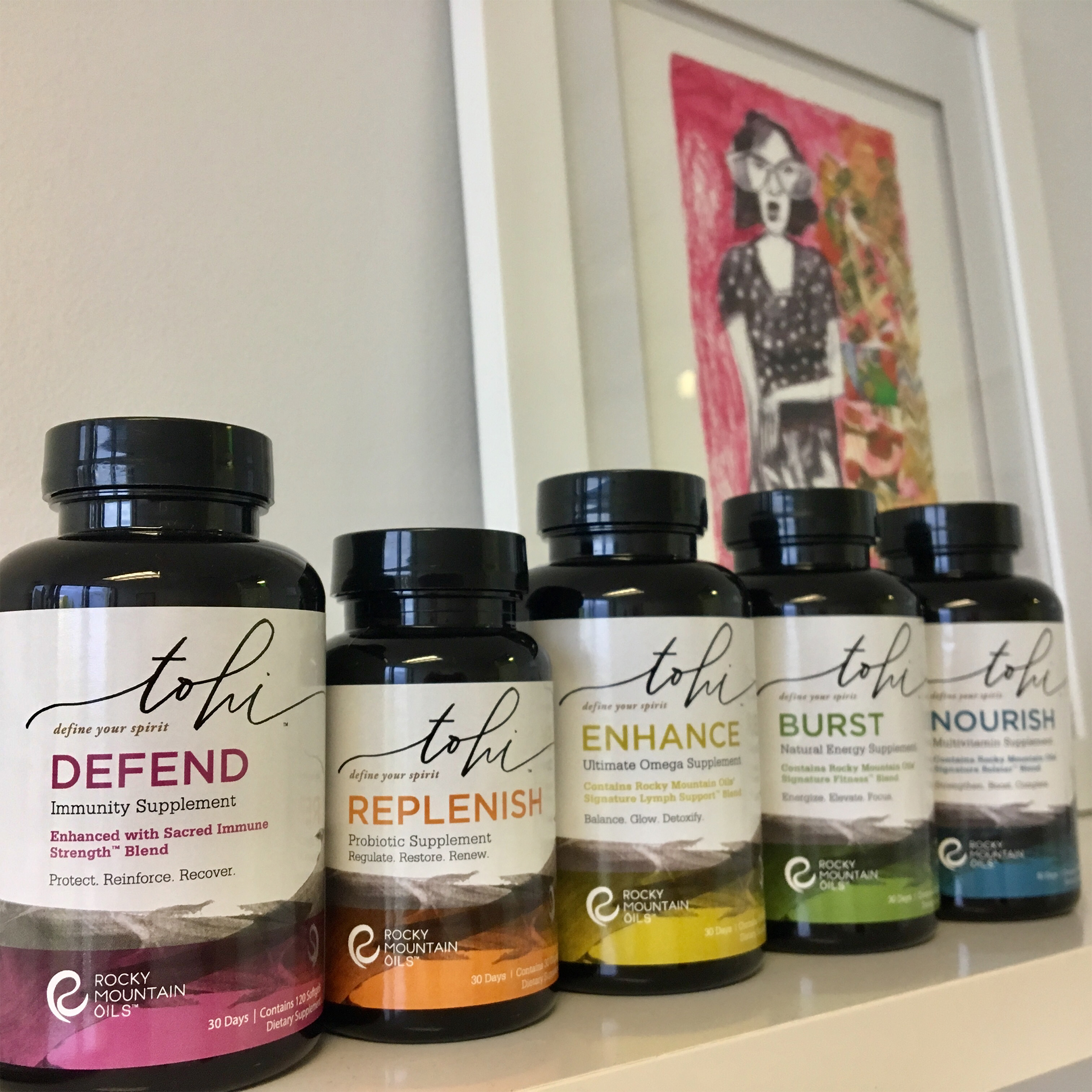 Rocky Mountain Oils   Expanding a brand's offerings in the wellness category.