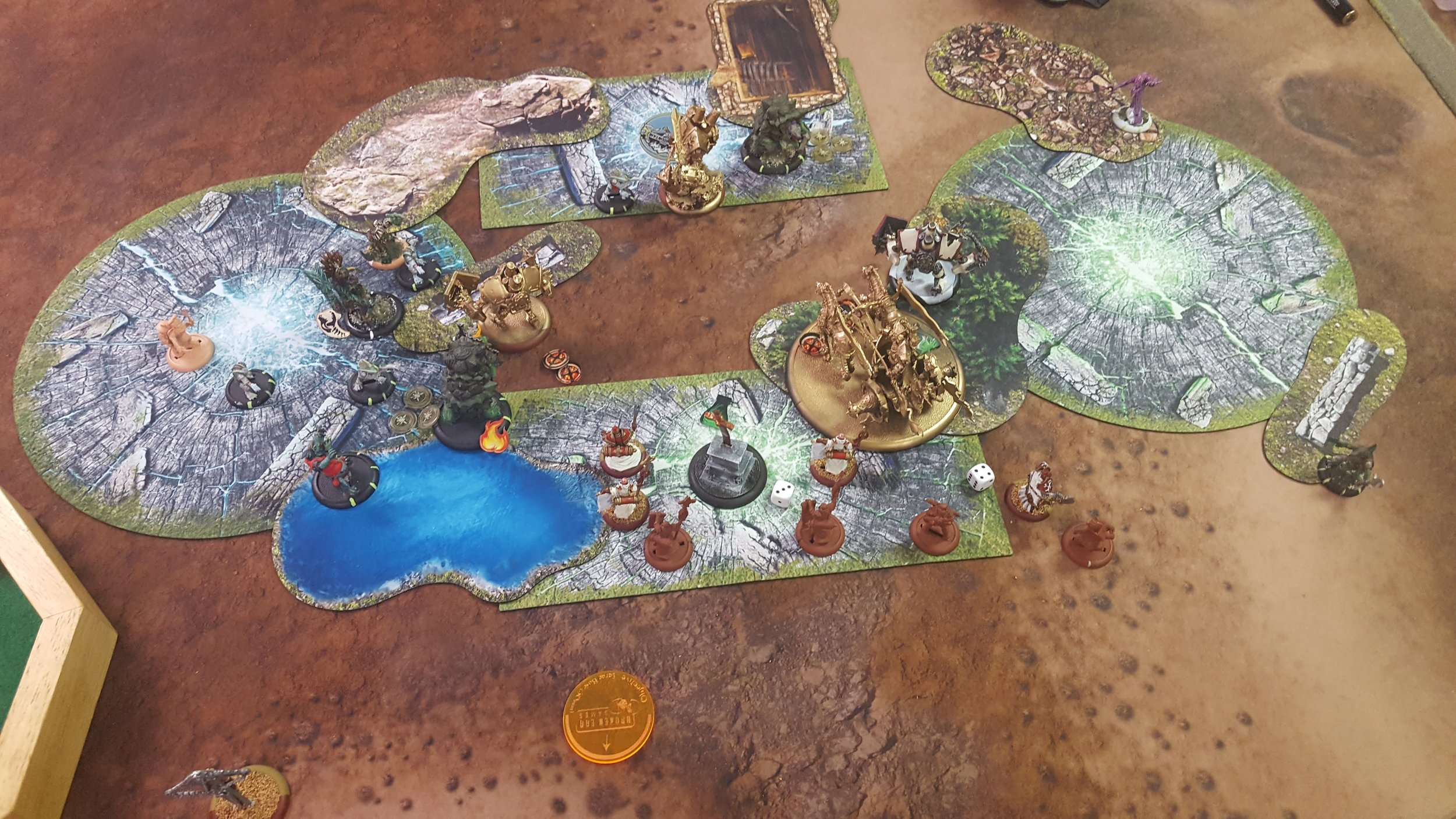Rhoven falls to the ambusher horde! Literally nothing else dies though.