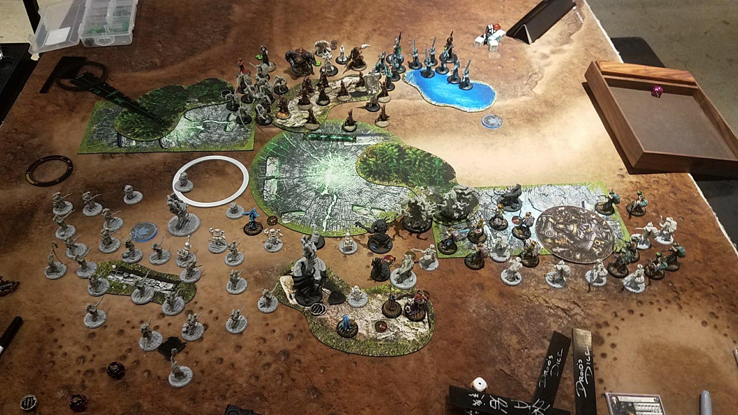 Player 2, Turn 1