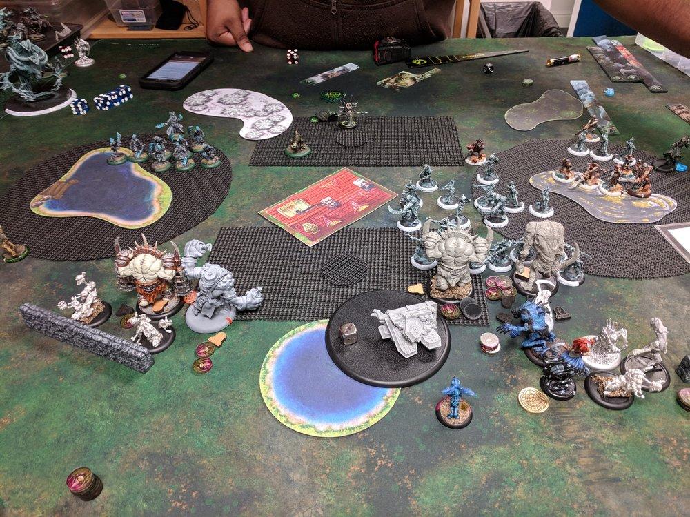 End of Cryx Turn 3 3-0 Cryx