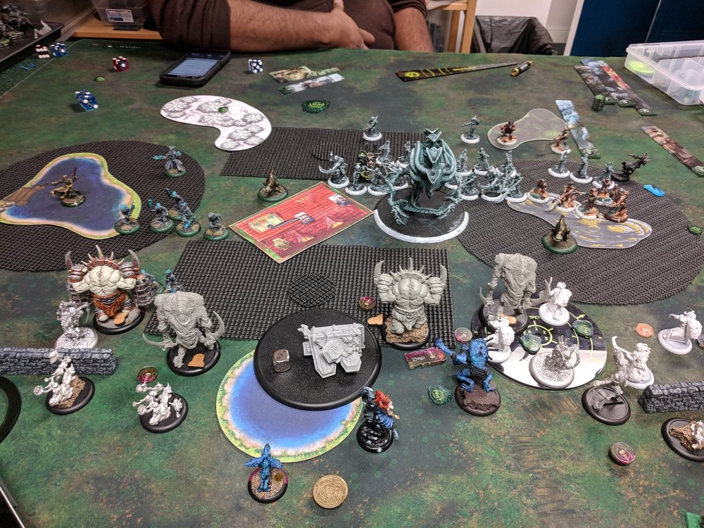 End of Cryx Turn 2