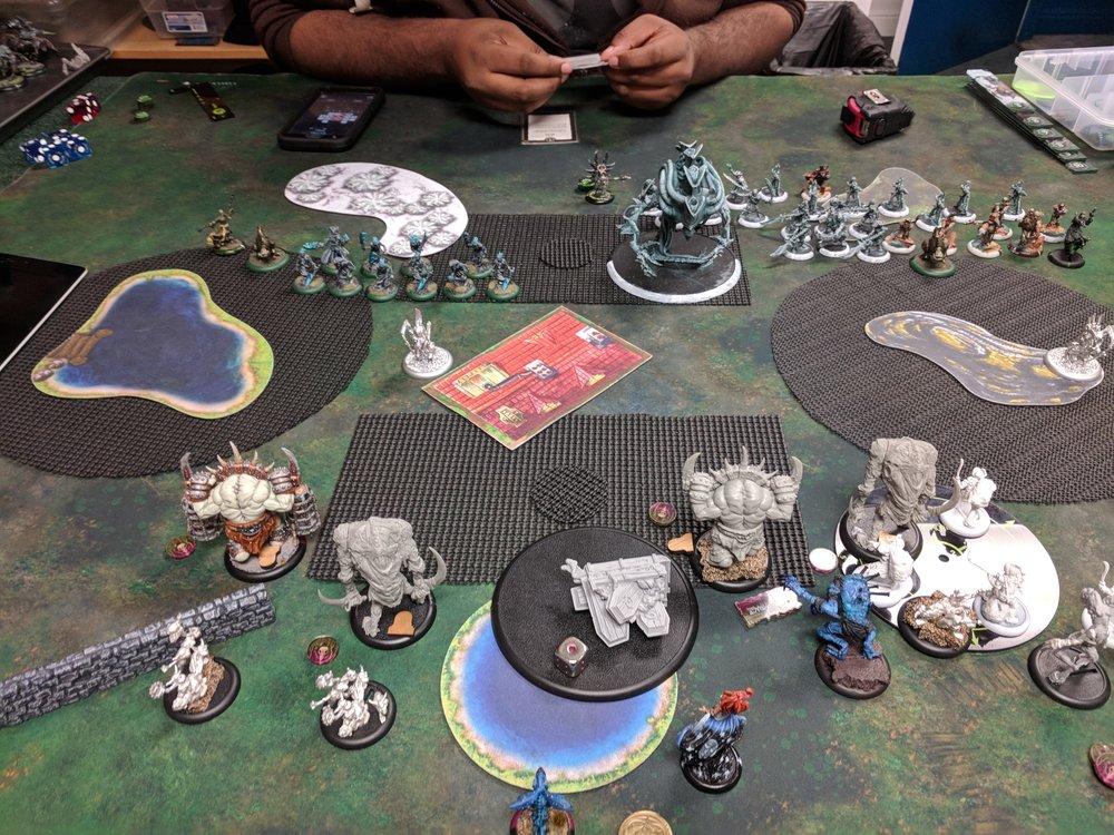 End of Grymkin Turn 1