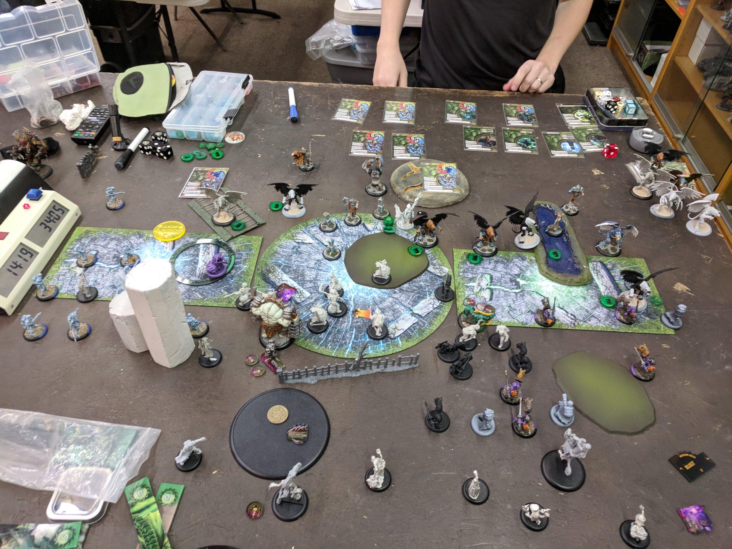 End of Grymkin Turn 3 2-0 Circle