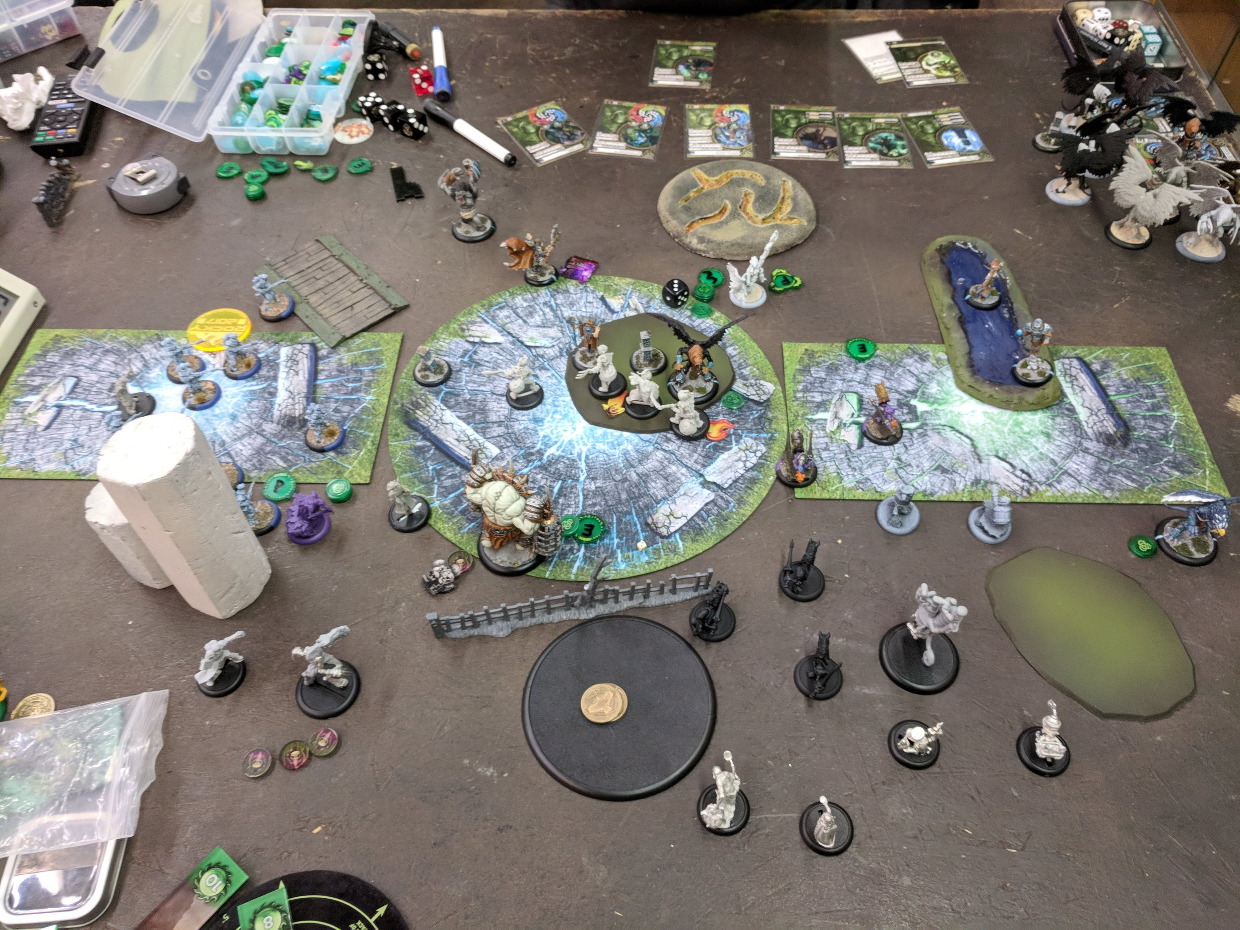End of Grymkin turn 4 3-0 Circle