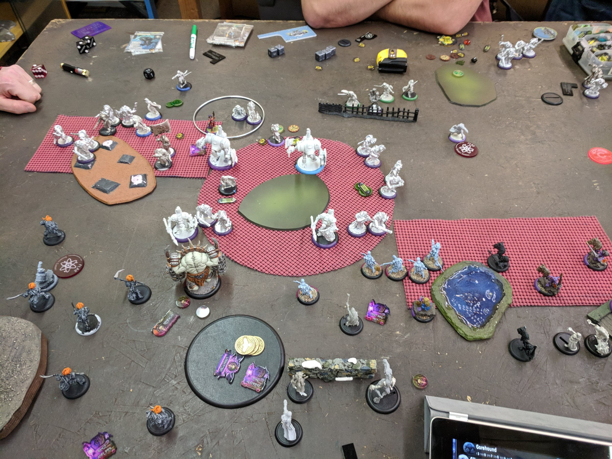 End of Mercs turn 2 3-1 Mercs