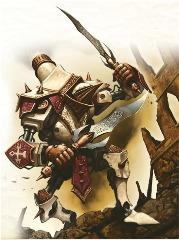 Hymn of Battle is also why our light 'jacks, like the Dervish, are so efficient compared to many factions.