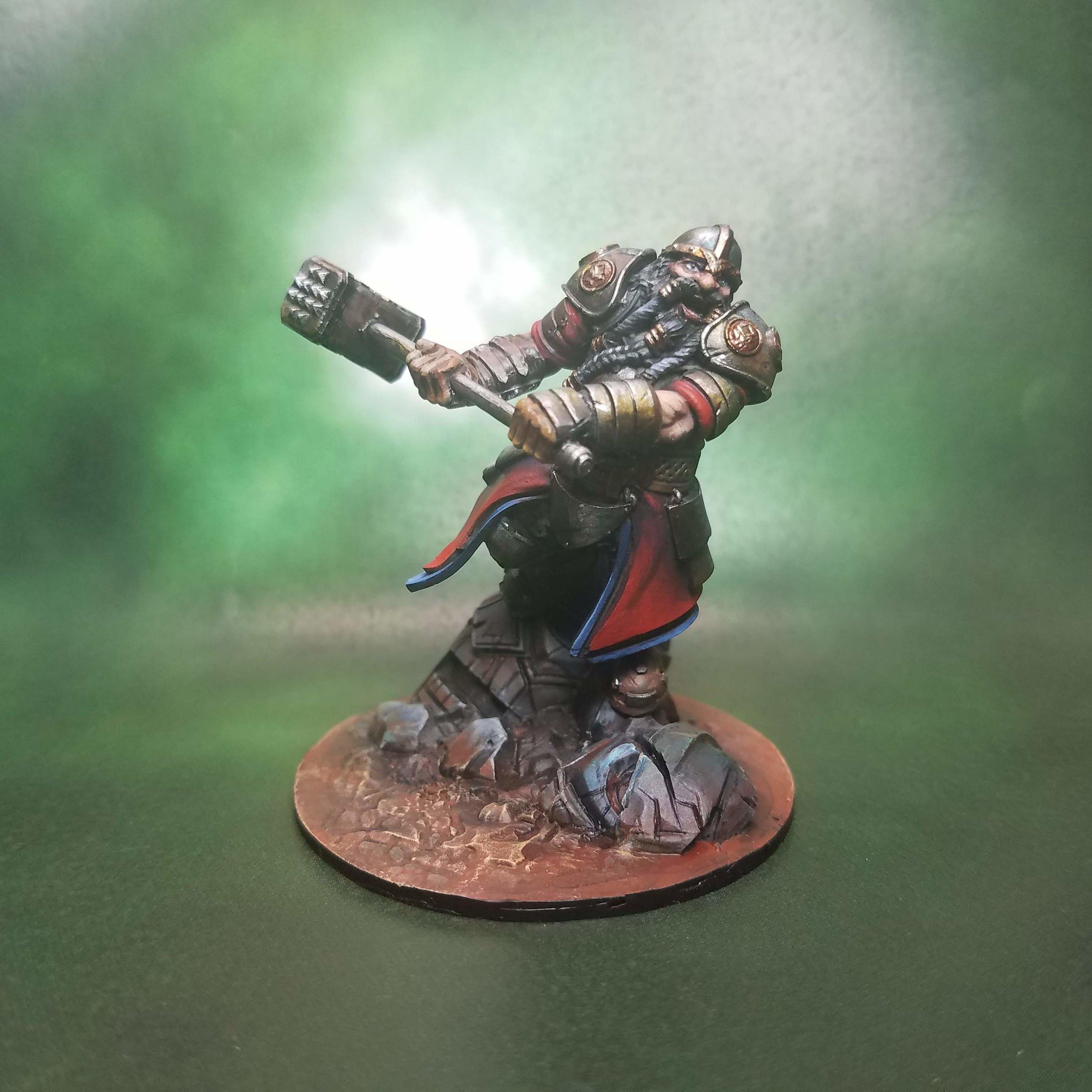 Thrommel, Dwarf Defender
